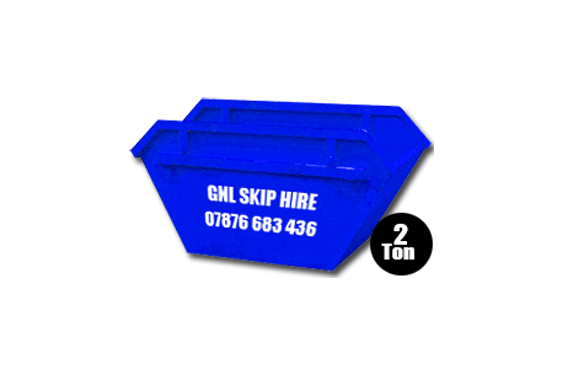Small 2 Ton Skips for hire in Yorkshire